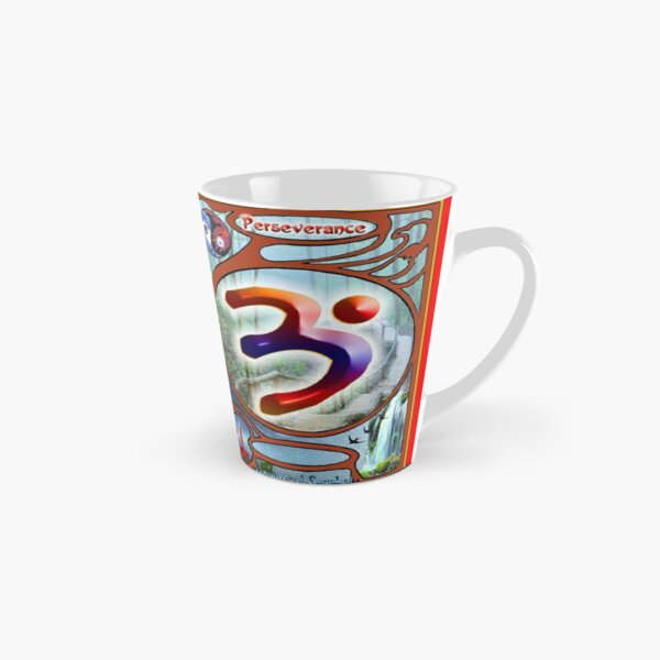 The Language of Light Symbol of Perseverance.  Tall Mug