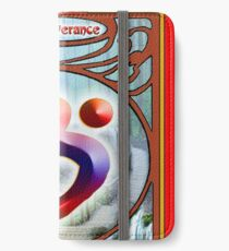 The Language of Light Symbol of Perseverance.  iPhone Wallet/Case/Skin