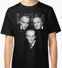 Christopher Lee Vincent Price and Peter Cushing Dracula Vampire Cult Movie Horror Classic Classic T-Shirt