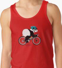 Cycling Panda Tank Top