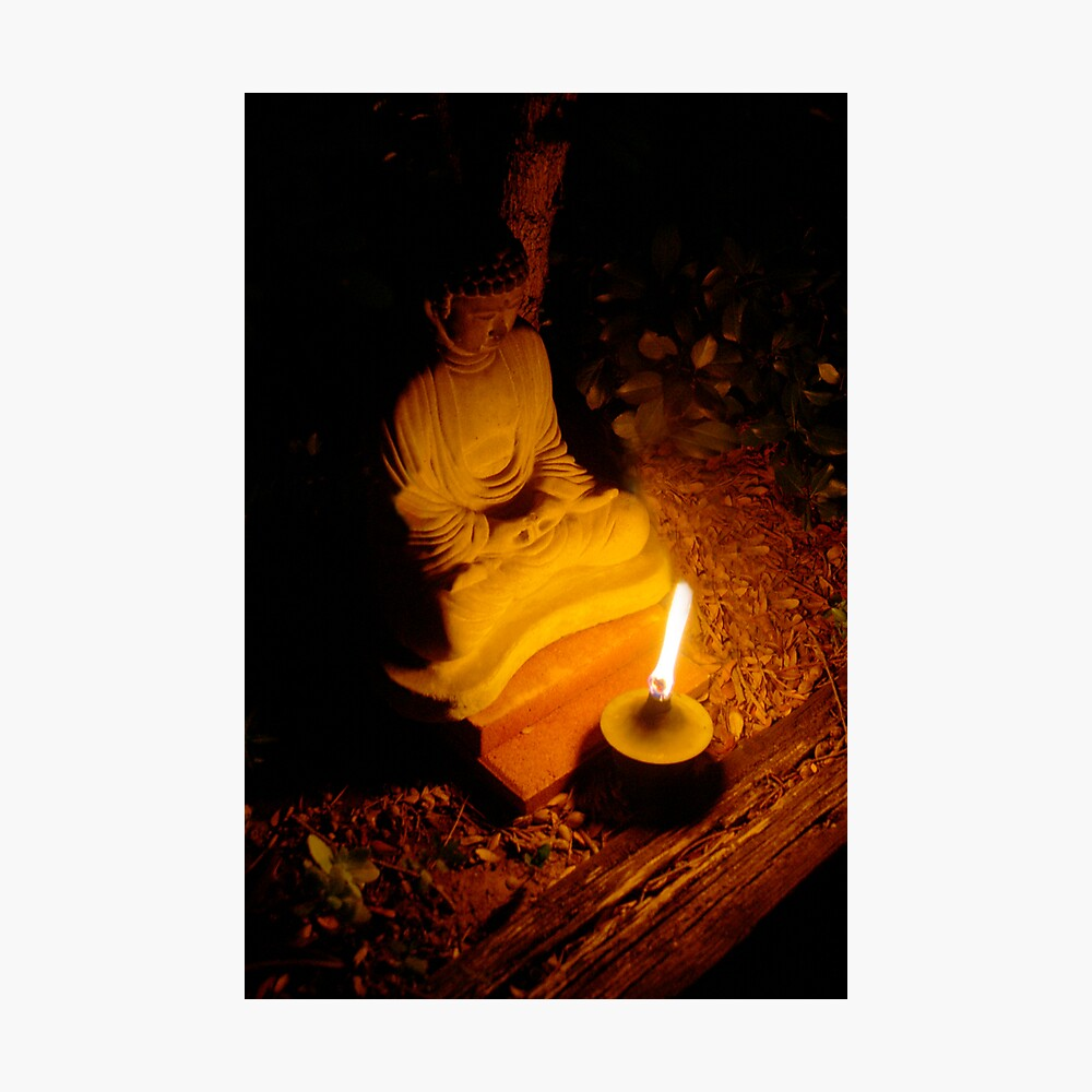 Buddha Light Photographic Print
