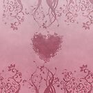 Romantic floral heart by Anteia