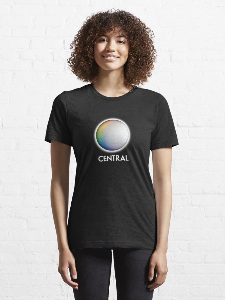 Alternate view of Central Television retro TV logo for the Midlands Essential T-Shirt
