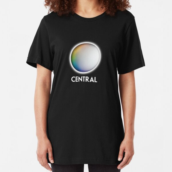 Central Television retro TV logo for the Midlands Slim Fit T-Shirt