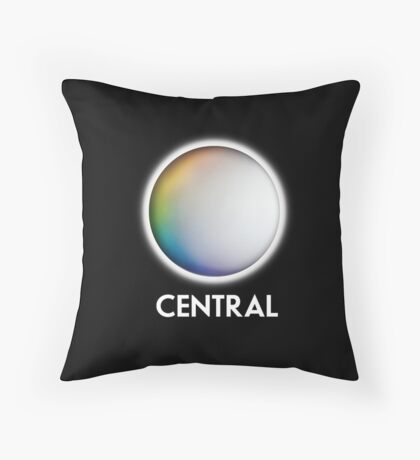 Central Television retro TV logo for the Midlands Throw Pillow