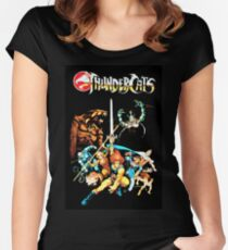 Thundercats - The original Picture Fitted Scoop T-Shirt