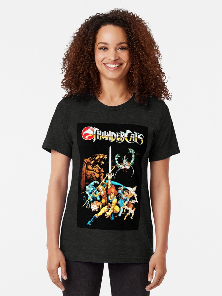 Alternate view of Thundercats - The original Picture Tri-blend T-Shirt