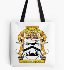 Greyhound Heraldry: Greyt Black Hound Tote Bag