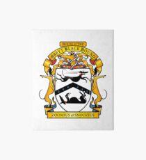 Greyhound Heraldry: Greyt Black Hound Art Board