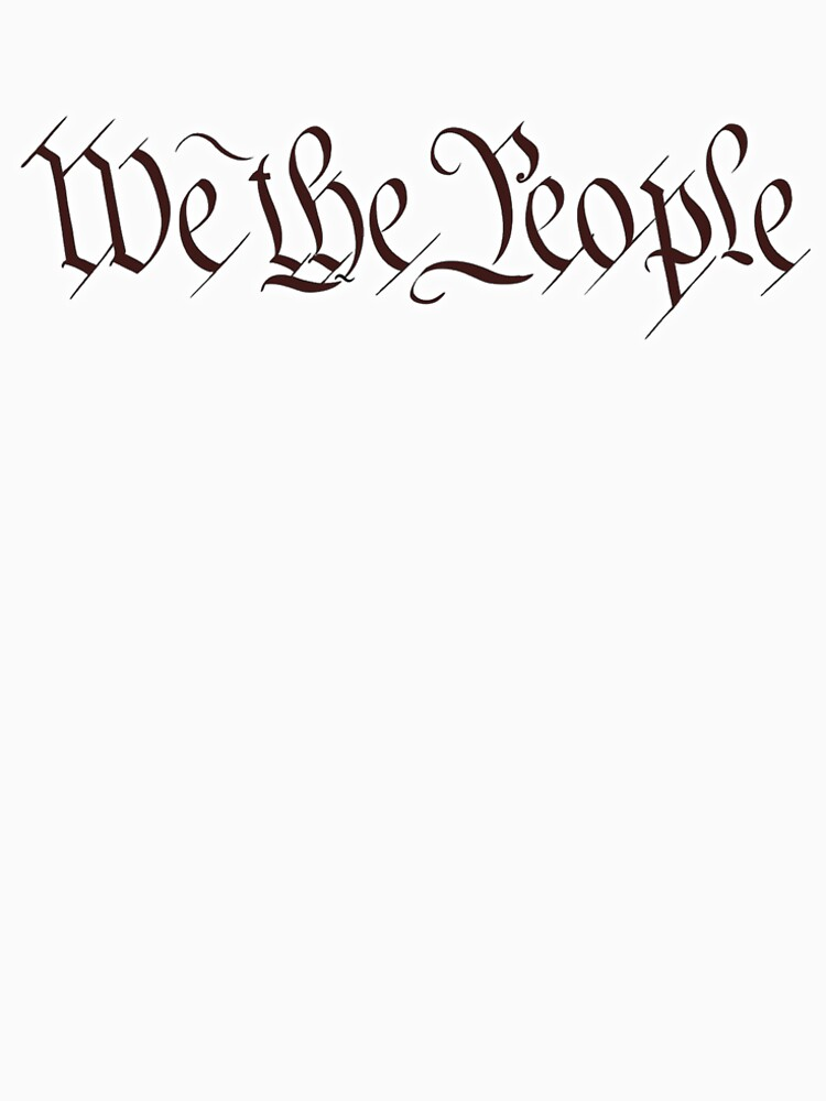 America, American, We the People, United States Constitution, Congress, Pure & Simple by TOMSREDBUBBLE