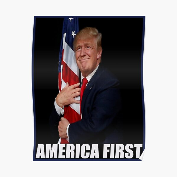 America First Iconic Image Poster