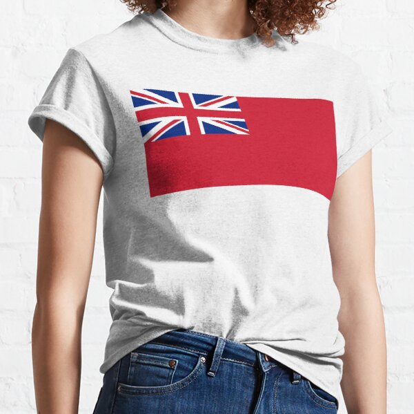 Red Ensign. NAVY, Merchant Navy, Flag, Red Duster, Royal Navy Flag. Classic T-Shirt