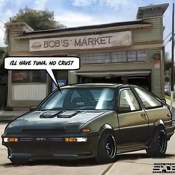 Bob's Market (AE86) by SprayPatrick
