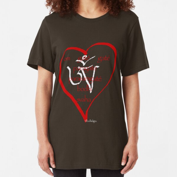 heart sutra Slim Fit T-Shirt