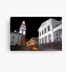 Governments Palace at night Canvas Print