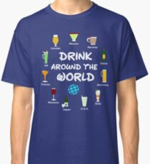 World Showcase Drink Around The World Classic T-Shirt