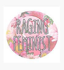 Raging Feminist Photographic Print