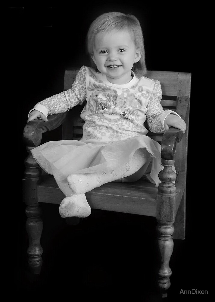 Great Granddaughter Laicey by AnnDixon