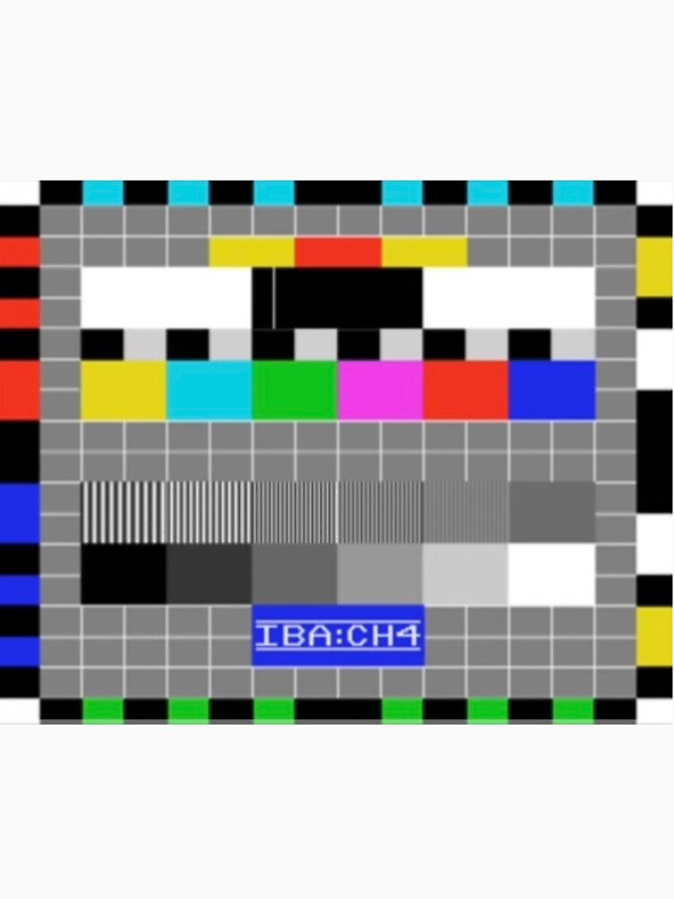 IBA Test Card by lgpmachine
