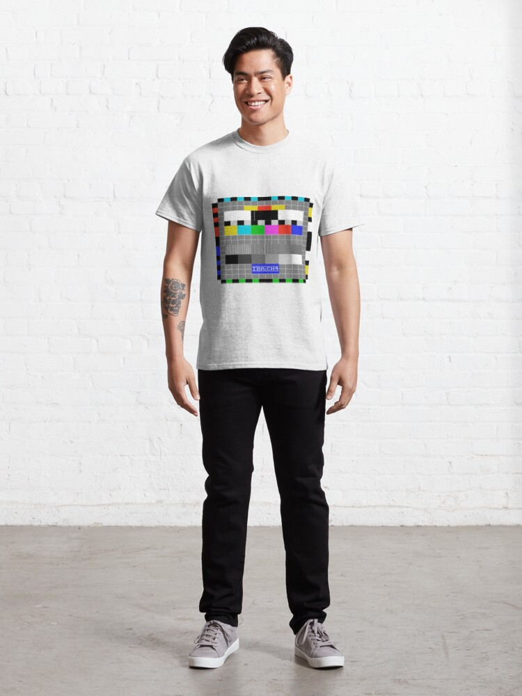 Alternate view of IBA Test Card Classic T-Shirt