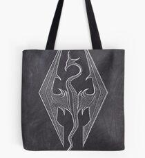 Chalk Dragon Spiritit Tote Bag