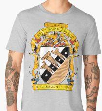 Greyhound Heraldry: Greyt Brindle Hound Men's Premium T-Shirt