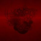 Dark red vector by Anteia