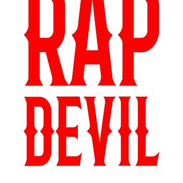 Rap Devil MGK Halloween Shirt  by carlosa98