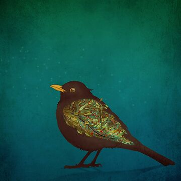 Camouflage: The Blackbird by MagpieMagic