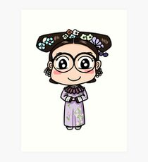 (Yanxi Gonglue Palace) Evacomics as Wei Ying Luo Art Print