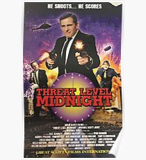 Geng Threat Level Midnight Poster Poster