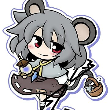 The tiny and clever Nazrin by MagicalFish