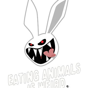 White Rabbit - Eating Animal Is Weird by vaxiin