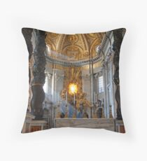 Bronze Altar Throw Pillow