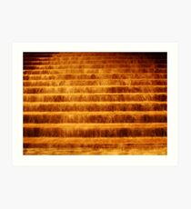 Water or Fire Art Print