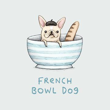 French Bowl Dog by SophieCorrigan
