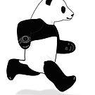 Running Panda by grumpyteds