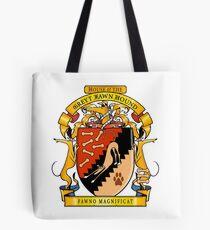 Greyhound Heraldry: Greyt Fawn Hound Tote Bag