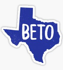 Beto for Senate Texas Flag Senator Vote for Beto Orourke Sticker