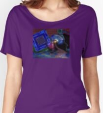 Cyberspace_2 Women's Relaxed Fit T-Shirt
