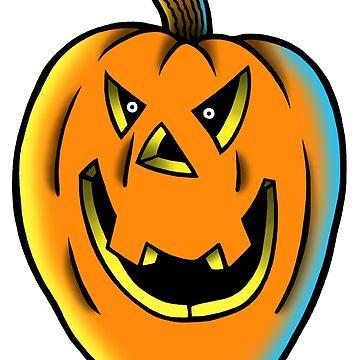 Season Of The Pumpkin by RetroHorrorInk