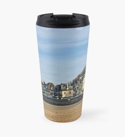 Winter beach Travel Mug