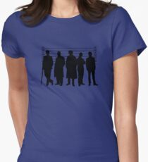 The Usual Holmesian Suspects Women's Fitted T-Shirt
