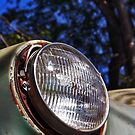 Old Plymouth Headlight..  by katievphotos