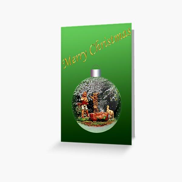 Shepherd 1 Christmas Card Greeting Card