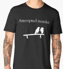 Attempted Murder (White design) Men's Premium T-Shirt