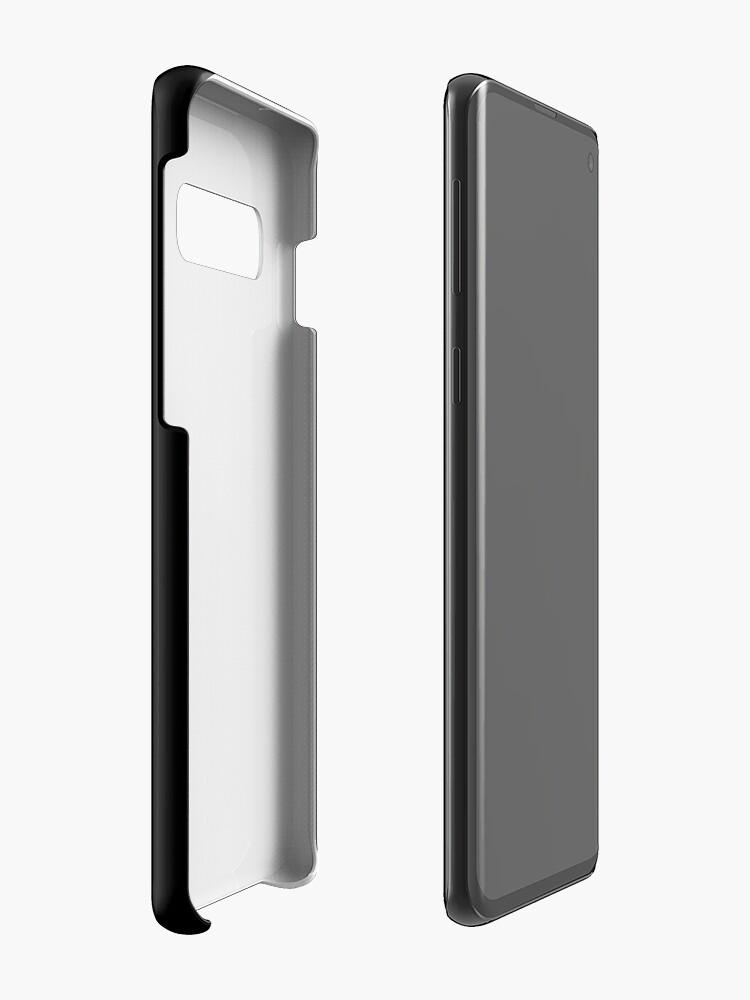 Alternate view of Attempted Murder (White design) Case & Skin for Samsung Galaxy