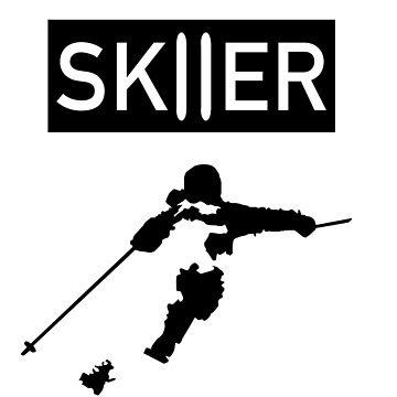 Skier Silhouette by Mt-of-Epic