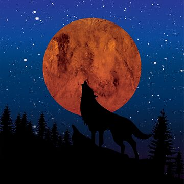 Wolf night by Melcu