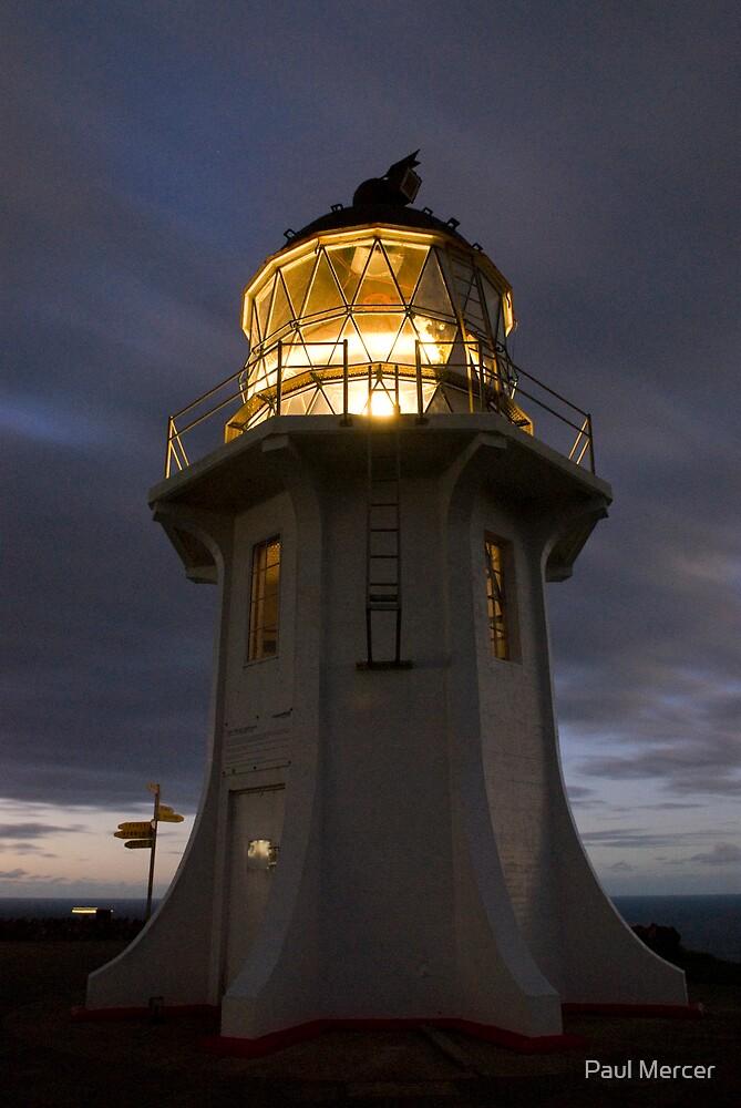 Cape Reinga lighthouse by Paul Mercer